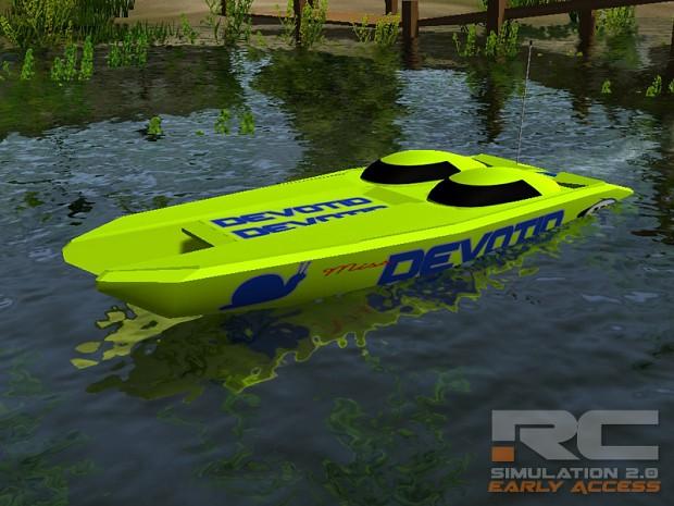 "42"" Catamaran ""Miss Devotid"" Race Boat"