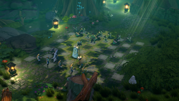 Screenshots of Chessaria, the Fantasy Chess Video Game on Steam