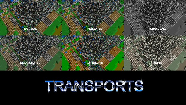 Transports filters