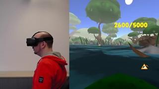 Playing ByteRockers' VRog on Samsung GearVR
