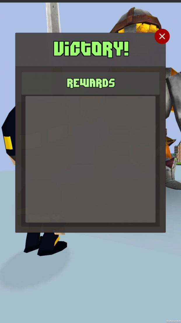 Rewards Menu