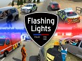 Flashing Lights: Police, Fire, EMS