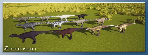 Thescelosaurus Skins