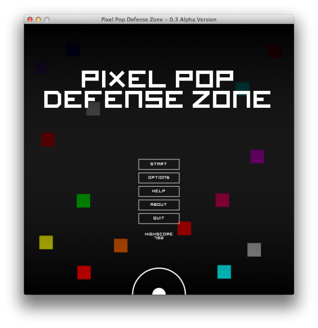 Pixel Pop Defense Zone