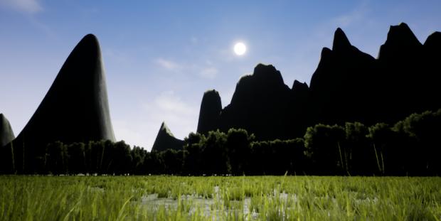 The foothills of Joral