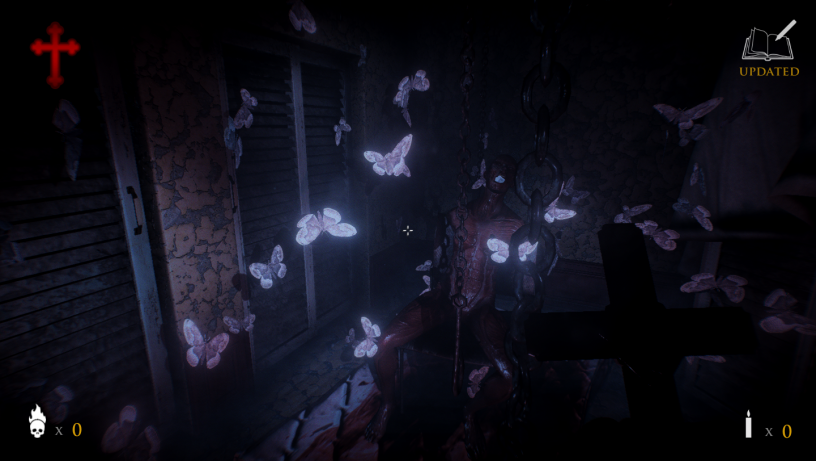 Moth shader in action