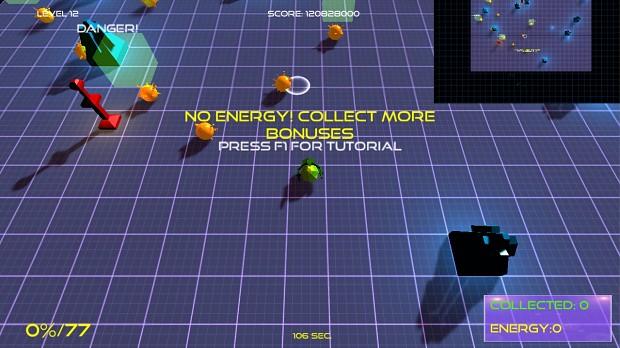 New energy system for Ballystix!