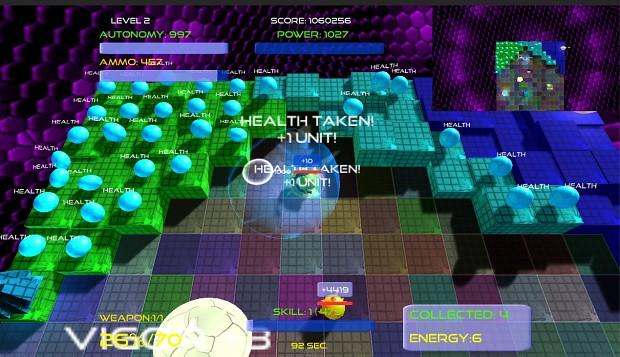BallystiX enriched gameplay