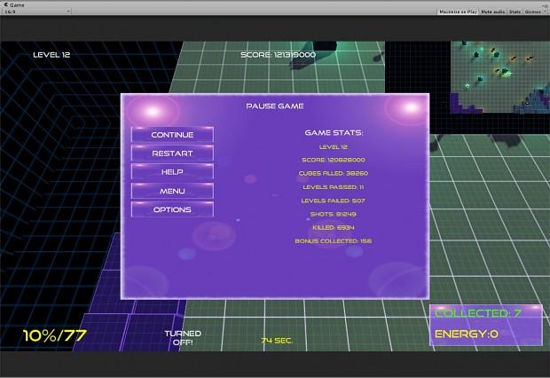 BallystiX first visual improvements for GUI