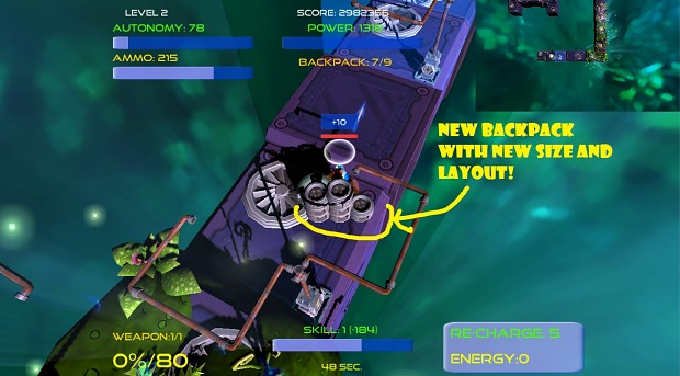 BallystiX - optimized backpack - available in downloadable demo version!