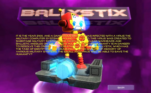BallystiX, a new AWESOME character for our hero!