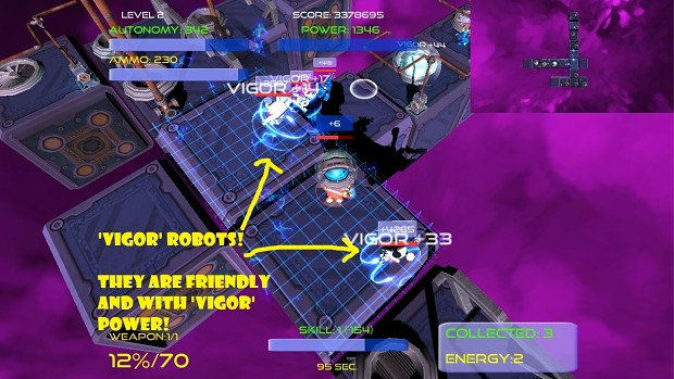 BallystiX vigor robots