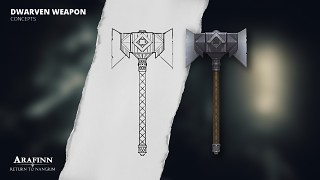 Dwarven Weapons - Battle Axe