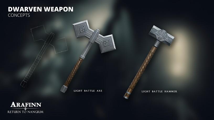 Light Dwarven Weapons