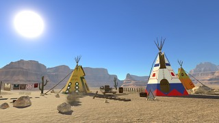 Indian Tipi Town
