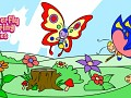 Butterfly Coloring Pages for Kids: Coloring Games