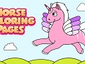 Horse Coloring Sheets for Kids