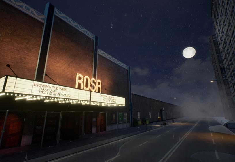 Cinema Rosa - New Images (Abandoned Cinema)