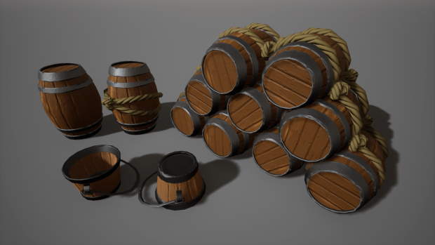 Some finished props