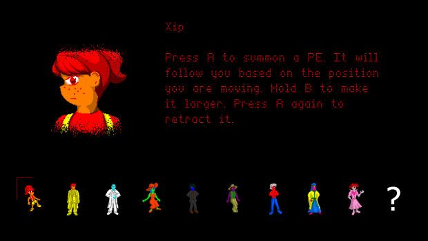 Updated character select with modfied sprites
