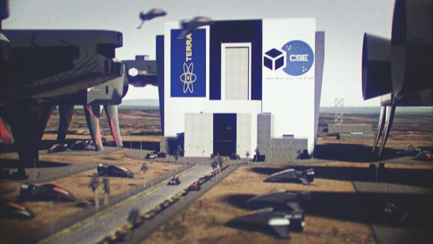 Opening movie WIP - Terran space center