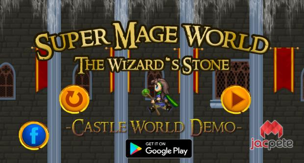 Super Mage World - jump n run - Castle World Demo (PC)