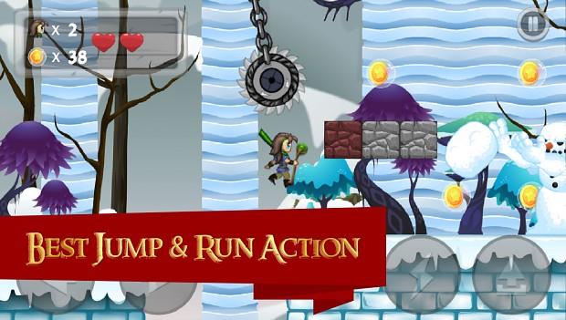 Super Mage World - jump n run