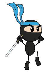 ninja fallBlue 4