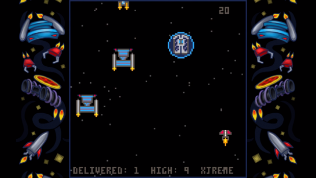 Parsec Pizza Delivery in-game screenshot image - Indie DB