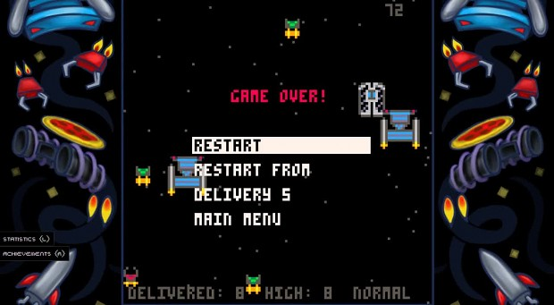 Jupi Plays Indie Games: Parsec Pizza Delivery