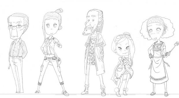Character And Npc Design : Npc character designs image my time at portia indie db
