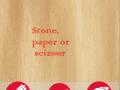 Stone, paper or scizoor