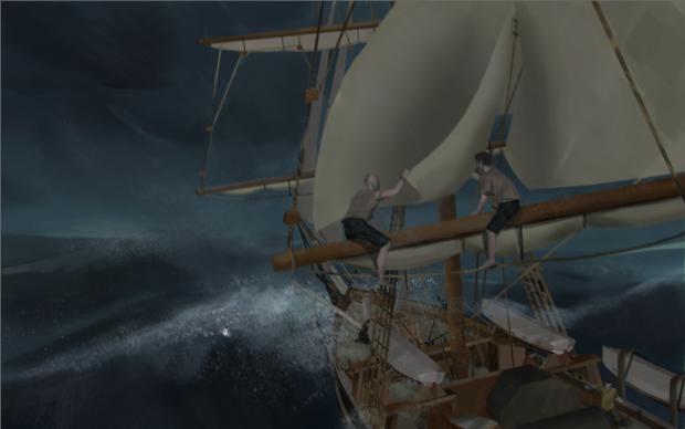fixing_sail