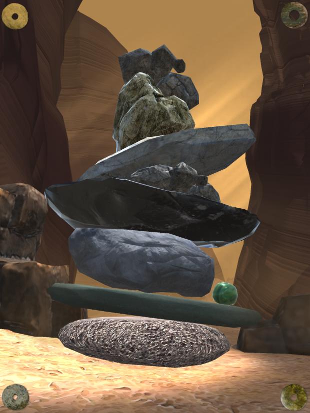 Desert Level of Rock Zen
