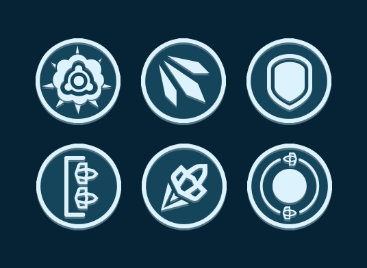 skill buttons