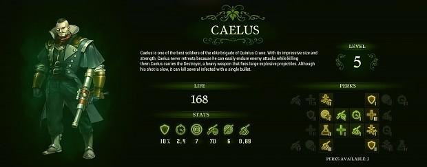 Caelus - They Are Billions Hero