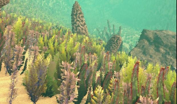 WOK: Underwater flora