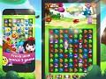 Fruit Cartoon - Fresh new match 3 game. Enjoy fun journey in Sky Farm!