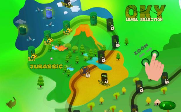 Screenshot Levels