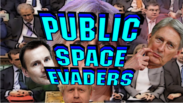 public space evaders title