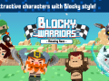 Blocky Warriors : Amazing Race