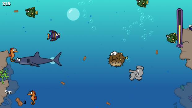 Diving Trunks screenshot