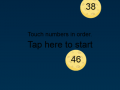 Touch Numbers In Order