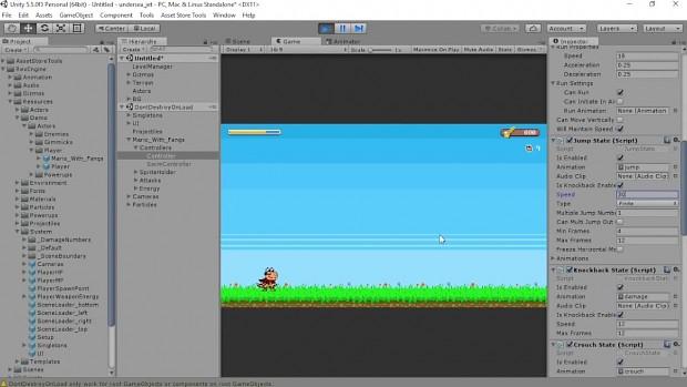 Rex Engine: Make your game control like Super Mario Bros