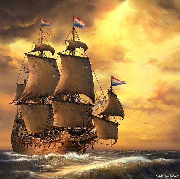 Sails of War - Concept Painting - Variant