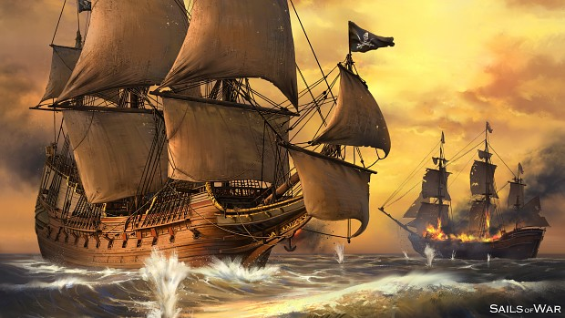 Sails of War - Concept Painting - Wallpaper