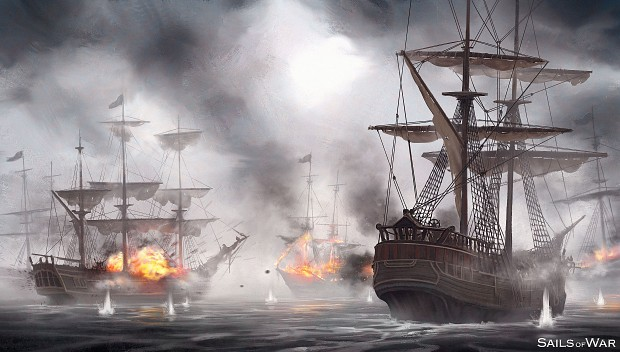 Sails of War - Concept Painting