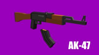 AK47 Render