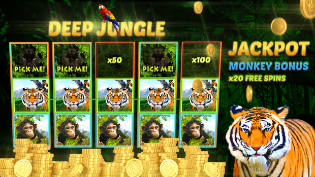 Deep Jungle Slot Machines