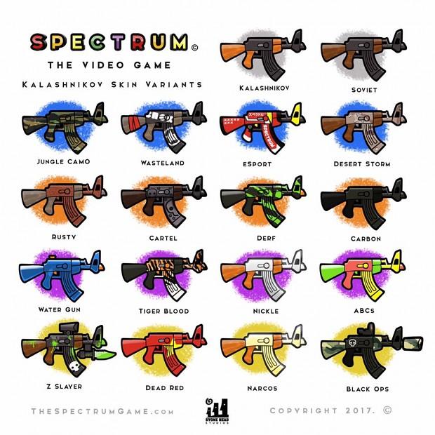 Kalashnikov Skins
